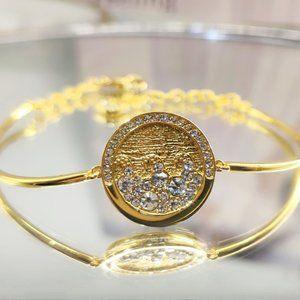 Swarovski Round Wave Bracelet